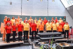 Gruppenbild Chor vorne 2
